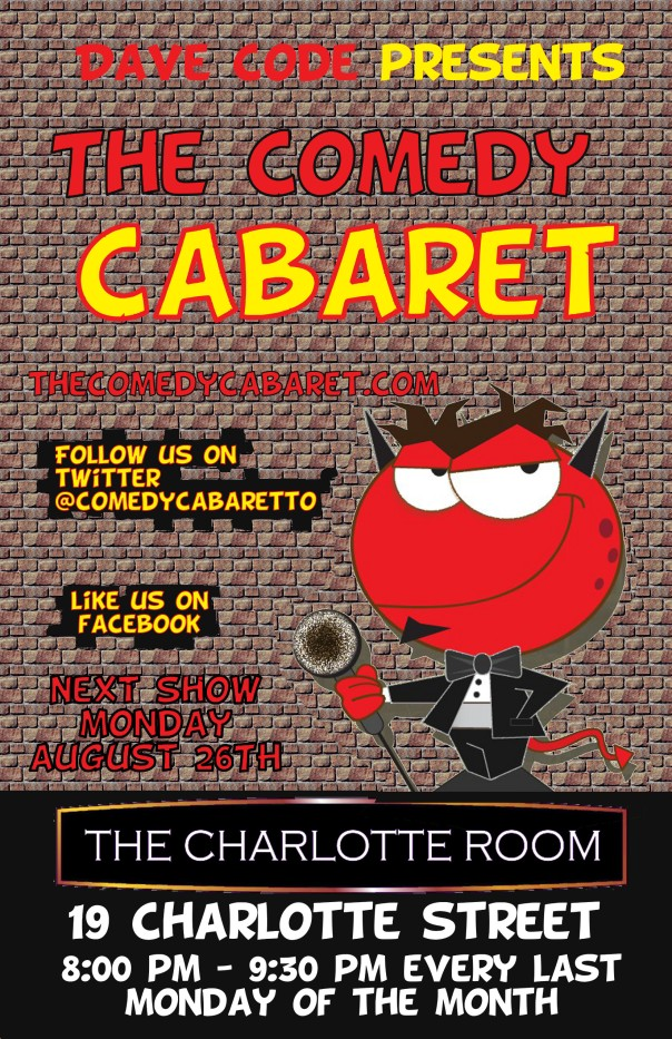 The Comedy Cabaret - August 26th